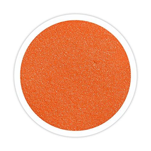 Sandsational Sparkle Orange Unity Sand, 22 oz, Colored Sand for Weddings, Vase Filler, Home Décor, Craft Sand