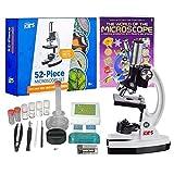 AmScope - M30-ABS-KT2-W-WM 1200X 52-pcs Kids...