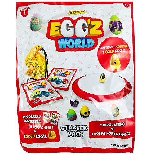 Panini Album Carton Starter Pack Egg.Z World 1 UD