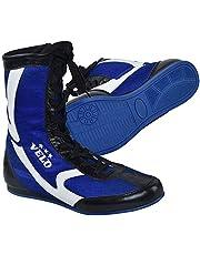 VELO. Lederen Boksen Schoenen Sport Master Training Mesh Unisex Pro Boot Licht Gewicht