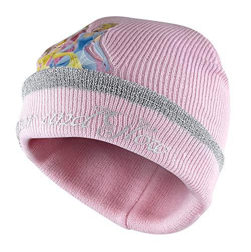 Disney - Gorro de invierno para niñas y niñas, diseño de princesa...
