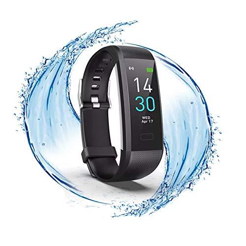 ITALNIC Orologio Fitness Activity Tracker Smartwatch Bluetooth Uomo Donna Saturimetro Cardiofrequenzimetro da Polso SmartBand Sportivo Contapassi Calorie GPS ECG Sveglia Impermeabile IP68 Android iOS