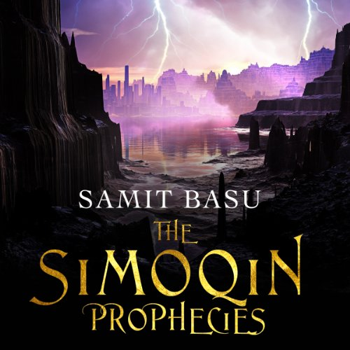 The Simoqin Prophecies audiobook cover art