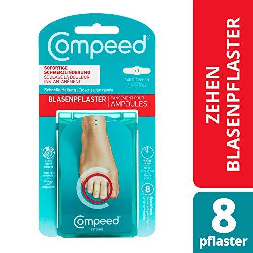 Compeed Blasenpflaster für die Zehen – extra kleine Hydrokolloid-Pflaster gegen Blasen an den Zehen, 8er Pack