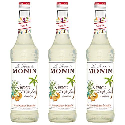 Monin Sirup Curaçao Triple Sec, 0,7L 3er Pack
