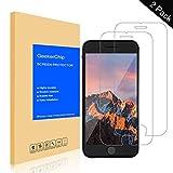 GeekerChip Verre trempé iPhone 6S/6 Protecteur d'écran[2 pièces], Protection écran en Verre Trempé Films Vitre pour iPhone 6S/6