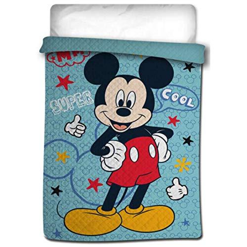 Colcha boutí termosellada Mickey Mouse para Cama de 90