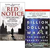 Red Notice & Billion Dollar Whale 2 Books Collection Set