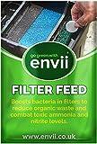 envii Filter Feed - Tratamiento Filtro Estanque –Mejora la Salud del Estanque y Reduce el Mantenimiento del Filtro - Trata 20.000 litros