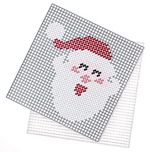 NC Canevas en Demi Point pour Enfant Motif Père Noël 13.5 x 14 cm