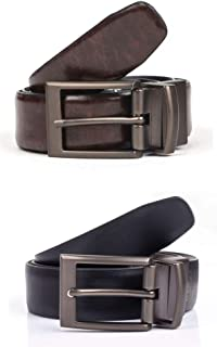 Dents Reversible Coated Leather Belt
