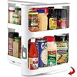 Estantería para especias extensible, estantería para especias de pie, para armario de cocina,...