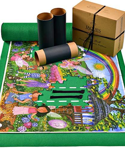 Jaques Von London Puzzlematte | Puzzelmatten für Puzzle 1000 | Qualität Puzzle Matte Roll Und Puzzle-Zubehör | Seit 1795