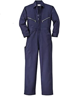 Work Men's Long Sleeve Twill Coverall