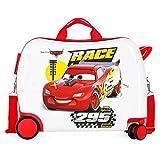 Disney Cars Joy Maleta Infantil Multicolor 50x38x20 cms Rígida ABS Cierre combinación 34L 2,1Kgs 4 Ruedas Equipaje de Mano