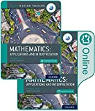 Oxford IB Diploma Programme IB Mathematics: applications and interpretation, Standard Level, Print and Enhanced Online Course Book Pack (English B for Ib Diploma Programme)