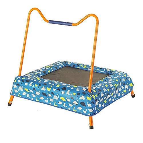 UIZSDIUZ Infantil Trampolín-Cubierta y rebotando Bed-Aptitud de la pérdida de Peso Principal al Aire Libre de los niños pequeños Juguetes del Alto Rendimiento y características de Seguridad