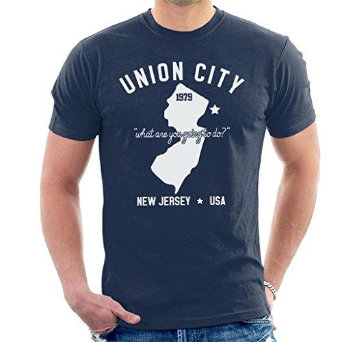 Men's Union City Blue T-shirt, S to XXL