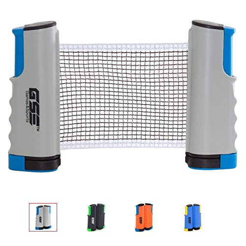 Why Choose GSE Games & Sports Expert Anywhere Retractable Table Tennis Net and Post. Adjustable Repl...