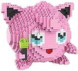 BBHH Mini Bloques De Diamantes De Juguete De Construcción - Pink Pocket Monster Modelo 3D 1605Pcs Ladrillos