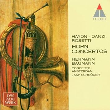 Haydn, Danzi, Rosetti : Horn Concertos