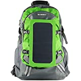 ECEEN Solar Bag Solar Charger Backpack With 7 Watts Solar Panel for Mobile