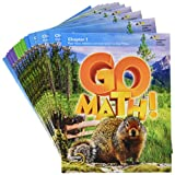 Go Math!: Multi-Volume Student Edition Bundle Grade 4 2015