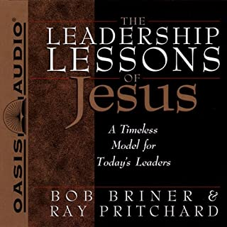 The Leadership Lessons of Jesus audiobook cover art