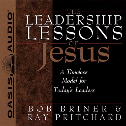 The Leadership Lessons of Jesus cover art
