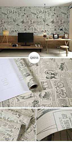Papel pintado autoadhesivo papel pintado a prueba de agua pegatinas de madera/papel pintado/murales 3x0,6m, para decoración de vestidor de dormitorio-NO 03_El ancho es de 60 cm