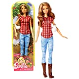 Barbie Unknown Mattel Year 2016 Career 12' Doll As Farmer (Dvf53) with Chicken, Multicolor