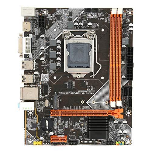Placa Base de computadora DDR3, Placa Base de Escritorio M-ATX LGA 1155, Compatible con Disco Duro M.2 / NVME/SATA/PCIE/USB, Chip de Tarjeta de Sonido de 6 Canales