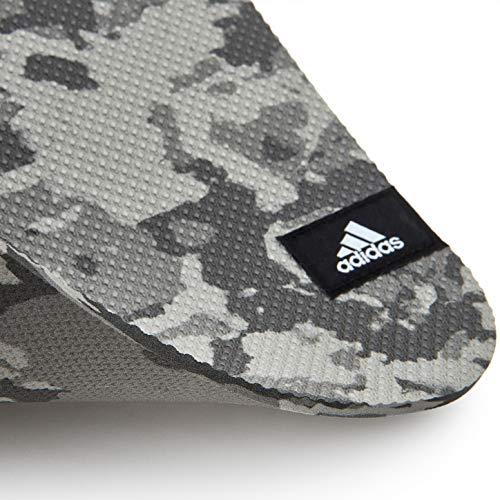 【Amazon.co.jp限定】adidas(アディダス)ヨガ&ストレッチトレーニングマットADMT-13231GR4mm迷彩カモグレーGreyCamoADMT-13231GR