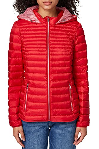 ESPRIT Damen 127EE1G006 Jacke, Rot (Red 630), Small