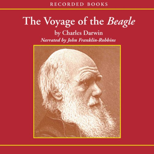 The Voyage of the Beagle audiobook cover art
