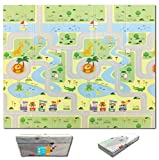 Fun N Well Foldable XPE Baby Play Mat | King Size 197x178x1cm |