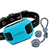 OCEVEN Wireless Dog Fence System with GPS, Outdoor Pet Containment System Rechargeable Waterproof Collar EF851S, for 15lbs-120lbs Dogs with 2pcs Toys for Free, Blue