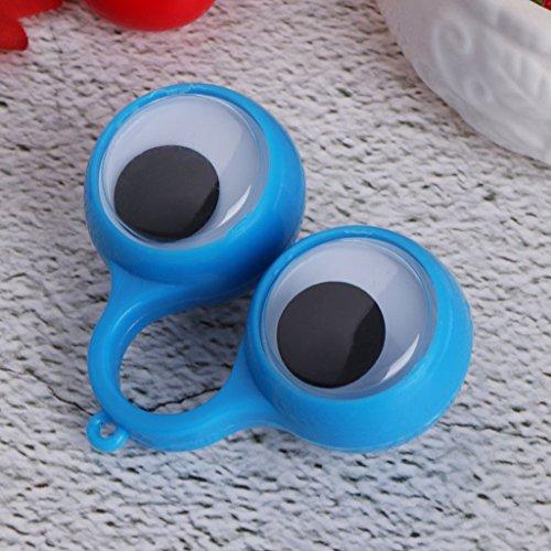 ECMQS 5.5cm Finger Aktivität Größe Auge Ring Kann Ausgestattet Mit Kleine Spielzeug Kleine Gifts Ramadan Festival Gift Ramadan Festival Geschenk, Zufällige Farbe