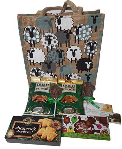 Irisches Geschenkpaket mit Schaf Shopper