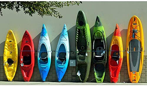 Rompecabezas de 1000 piezas, kayak Un juego de rompecabezas que puede cultivar el pensamiento lógico. Adecuado para juegos de decoración familiar y educativos divertidos para niños.