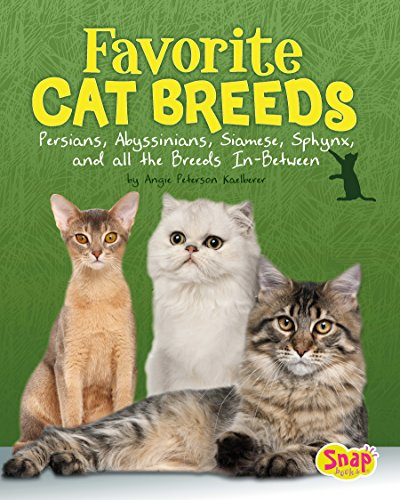 Favorite Cat Breeds: Persians, Abyssinians, Siamese, Sphynx, and All the Breeds In-Between (Cats Rule!)