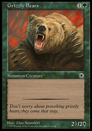 Magic The Gathering - Grizzly Bears - Portal