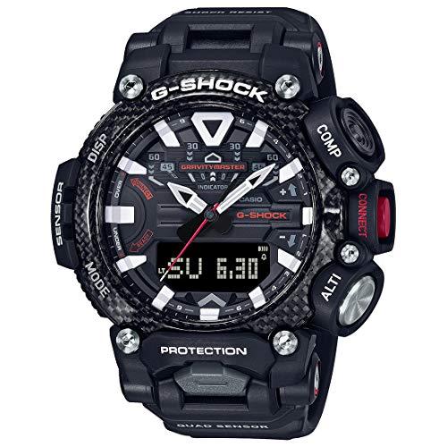 Casio G-Shock Analog-Digital Black Dial Men's Watch-GR-B200-1ADR