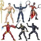 Black Panther Marvel Legends 15cm Action Figures Wave 1 Set