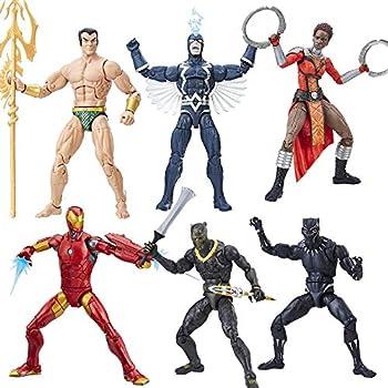 Black Panther Marvel Legends 6-Inch Action Figures Wave 1 Set