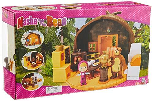 Simba 109301632 Masha Bears House Playset, Multicolor