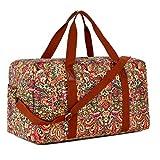 BAOSHA HB-32 Canvas Travel Duffel Bag Weekender Overnight Bag Carry on Oversized