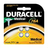 Duracell Home / Medical Battery Px76a 4 Pack
