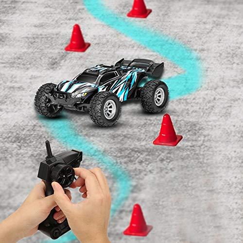 2.4G Hochgeschwindigkeits-RC-Car, 1/32 Mini Overland 20 km/h Hochgeschwindigkeits-Drift-Fernbedienungswerkzeug LED-Licht RC-Car-Spielzeug für Jungen und Mädchen