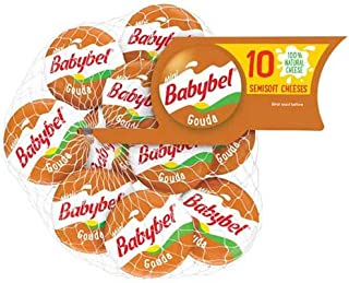 Mini Babybel Gouda Cheese, 7.5 Ounce -- 12 per case.